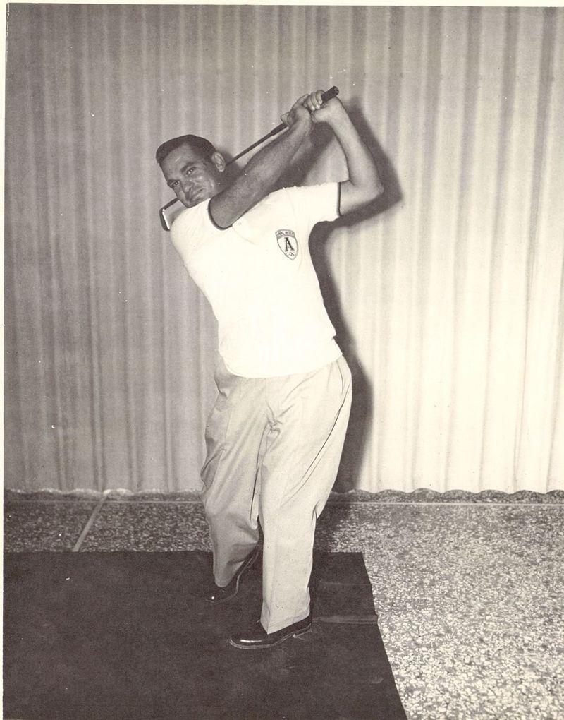Dad athens golfing 1965