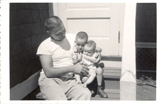 Sept 1957 with ray, dottie, dad