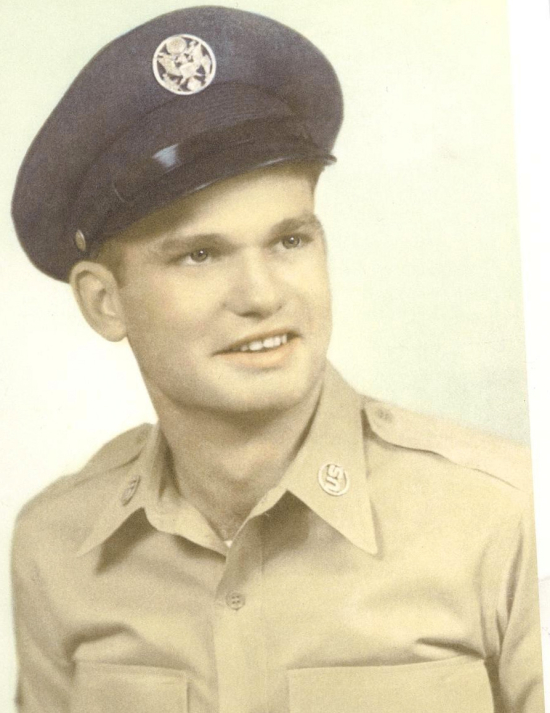 Dad  Wilburn Ray Moss  Sr. early 1950's